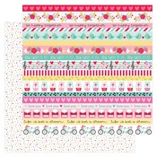 Sweet Sprinkles Paper - Love Notes - Doodlebug