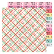 Forever Plaid Paper - Love Notes - Doodlebug