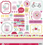 Love Notes This & That Sticker - Doodlebug