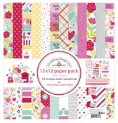 Love Notes 12x12 Paper Pack - Doodlebug