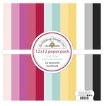 Love Notes Textured Cardstock Assortment Pack - Doodlebug