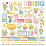 Easter Wishes Element Stickers - Photoplay