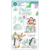 Polar Playtime - Polar Playtime Craft Consortium A5 Clear Stamps