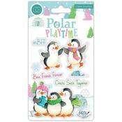 BFF - Polar Playtime Craft Consortium A5 Clear Stamps