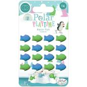 Adhesive Resin Fish - Polar Playtime Craft Consortium