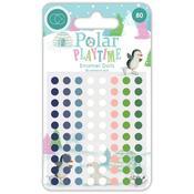 Adhesive Enamel Dots - Polar Playtime Craft Consortium