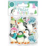 Polar Playtime Craft Consortium Laser-Cut Wooden Shapes