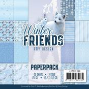 Winter Friends Double Sided 6 x 6 Paper Pack - Find It Trading - PRE ORDER