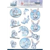Arctic Friends Punchout Sheet - Winter Friends - Find It Trading - PRE ORDER
