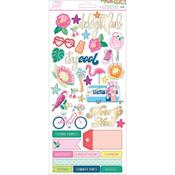 Accent & Phrase Stickers - Here And Now - Dear Lizzy