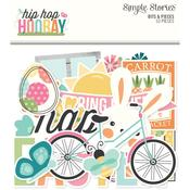 Hip Hop Hooray Bits & Pieces Die-Cuts - Simple Stories