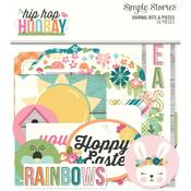 Journal Hip Hop Hooray Bits & Pieces Die-Cuts - Simple Stories