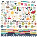 Combo Cardstock Stickers - Best Year Ever - Simple Stories