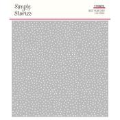 "Speckle Dot Stencil 6""X6"" - Best Year Ever - Simple Stories"