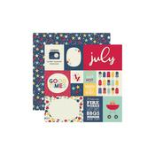July Paper - Best Year Ever - Simple Stories