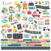 Combo Stickers - Going Places - Simple Stories