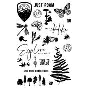 Simple Vintage Great Escape Clear Stamps - Simple Stories