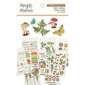 Simple Vintage Great Escape Sticker Book - Simple Stories