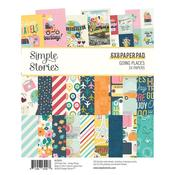 "Going Places Paper Pad 6""X8"" - Simple Stories - PRE ORDER"