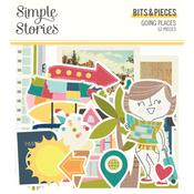 Bits & Pieces Die-Cuts - Going Places - Simple Stories - PRE ORDER