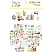 Going Places Sticker Sheets - Simple Stories - PRE ORDER