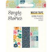 Going Places Washi Tape - Simple Stories - PRE ORDER