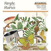 Simple Vintage Great Escape Bits & Pieces Die-Cuts - Simple Stories