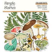 Foliage Bits & Pieces Die-Cuts - Simple Stories