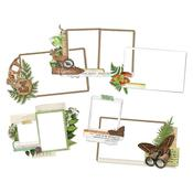 Simple Vintage Great Escape Layered Frames Die-Cuts - Simple Stories