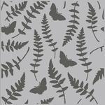 Butterfly Fern Simple Vintage Great Escape Stencil - Simple Stories
