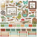Combo Sticker Sheet Simple Vintage Great Escape - Simple Stories