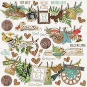 Banners Sticker Sheet Simple Vintage Great Escape - Simple Stories