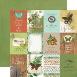 3 X 4 Elements Paper - Simple Vintage Great Escape - Simple Stories - PRE ORDER
