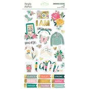 I Am Chipboard Stickers - Simple Stories