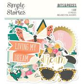 Bits & Pieces Die-Cuts - I Am - Simple Stories - PRE ORDER