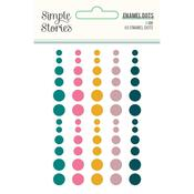 Enamel Dots - I Am - Simple Stories - PRE ORDER