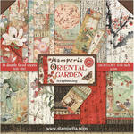 Oriental Garden 8x8 Stamperia Double-Sided Paper Pad