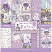 Provence 8x8 Stamperia Double-Sided Paper Pad