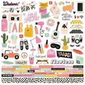 Kate & Ash Combo Sticker Sheet - Simple Stories