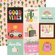 4 X 4 Elements Paper - Kate & Ash - Simple Stories - PRE ORDER
