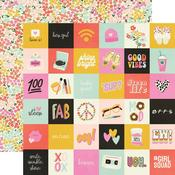 2 X 2 Elements Paper - Kate & Ash - Simple Stories - PRE ORDER