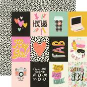3 X 4 Elements Paper - Kate & Ash - Simple Stories - PRE ORDER