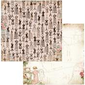 Keepsakes Paper - Family Heirlooms - Bo Bunny