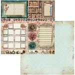 Trinkets Paper - Family Heirlooms - Bo Bunny