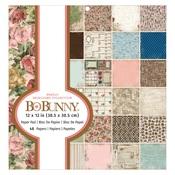 Family Heirlooms 12 x 12 Paper Pad - Bo Bunny