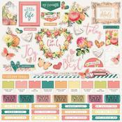 Combo Sticker - Simple Vintage Garden District - Simple Stories