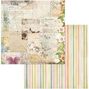 Postcards Paper - Garden Grove - Bo Bunny