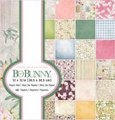 Garden Grove 12 x 12 Paper Pad - Bo Bunny