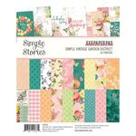 "Simple Vintage Garden District 6""X8"" Paper Pad - Simple Stories"