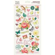 Chipboard Stickers - Simple Vintage Garden District - Simple Stories